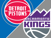 Sacramento Kings vs Detroit Pistons
