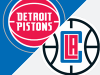 Detroit Pistons vs LA Clippers